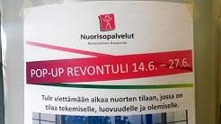 Nuorten tila – Pop-Up Revontuli @ Kauppakeskus Revontuli, Rovaniemi 22.6.2016