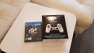 Ps4 Gt Sport Limited Edition Dualshock 4 And Gt Sport Day One Edition Unboxing