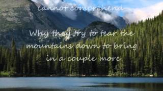 Rocky Mountain High +lyrics John Denver
