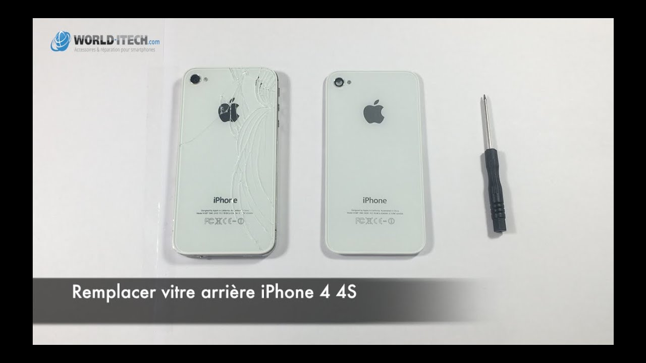 tutoriel comment remplacer face vitre arri re iphone 4 4s world youtube. Black Bedroom Furniture Sets. Home Design Ideas