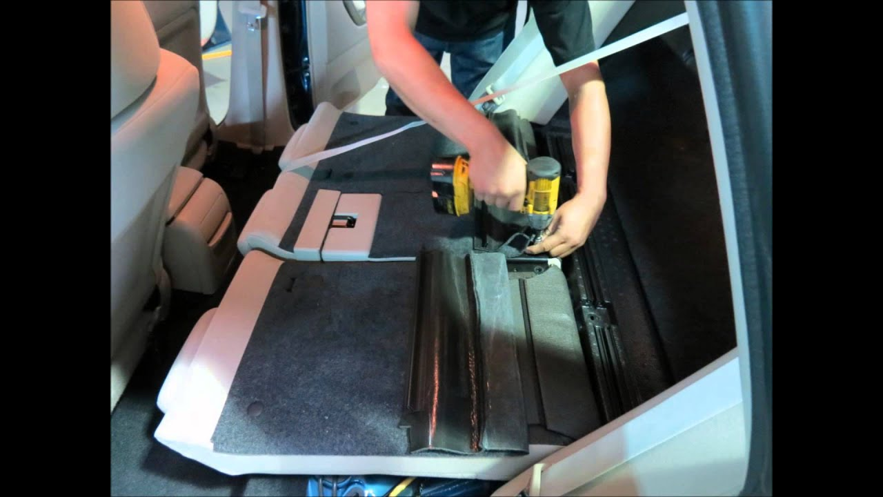 How to install Subaru leather seat covers and interiors - YouTube