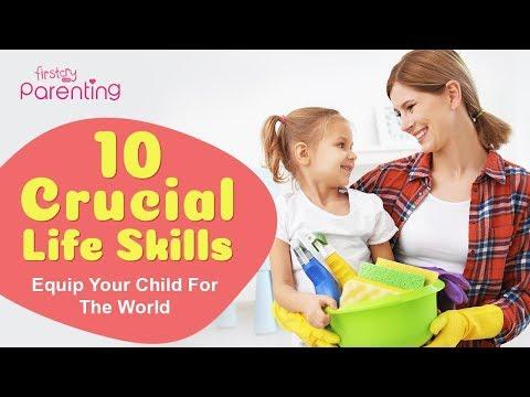 10 Basic Life Skills to Teach Your Kids