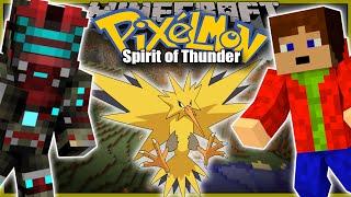 rakeťci minecraft pixelmon spirit of thunder ep 1 w porty