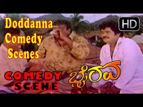 Doddanna Comedy Scenes asked for party Comedy Scenes | Kannada Comedy Scenes | Bairava Kannada Movie