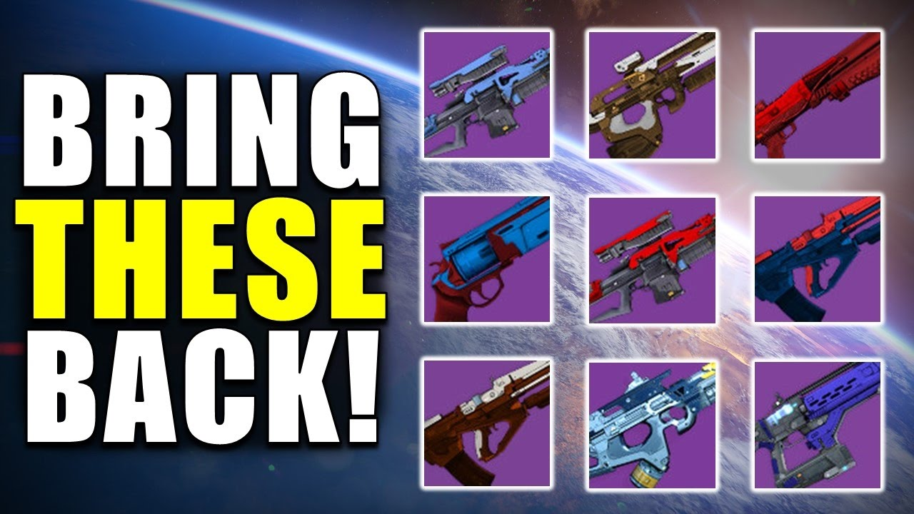 destiny: bring these back in age of triumph! | unattainable year 1