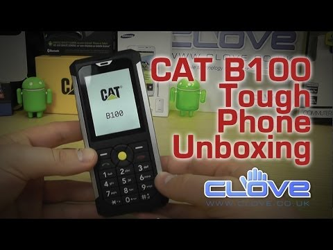CAT B100 Tough Phone Unboxing