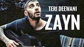 Zayn Malik| Teri Deewani  Kailash Kher  |singing Bollywood  Song | Via Ig Video
