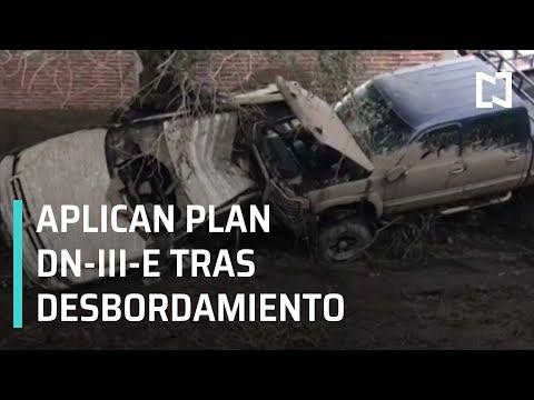 Desbordamiento de río en Jalisco activó Plan DN-III-E - A Las Tres