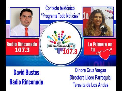 Dinora Cruz Vargas, Directora del Liceo Parroquial Teresita de Los Andes de Rinconada, SIMCE