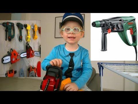 Jouet outils électriques BOSCH électrique Tournevis Perceuse Enfants Enfants Garçons Jouets Jeu