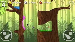 Flappy Golf 2 RAIN FOREST HOLE 1-9 Gold Star Walkthrough