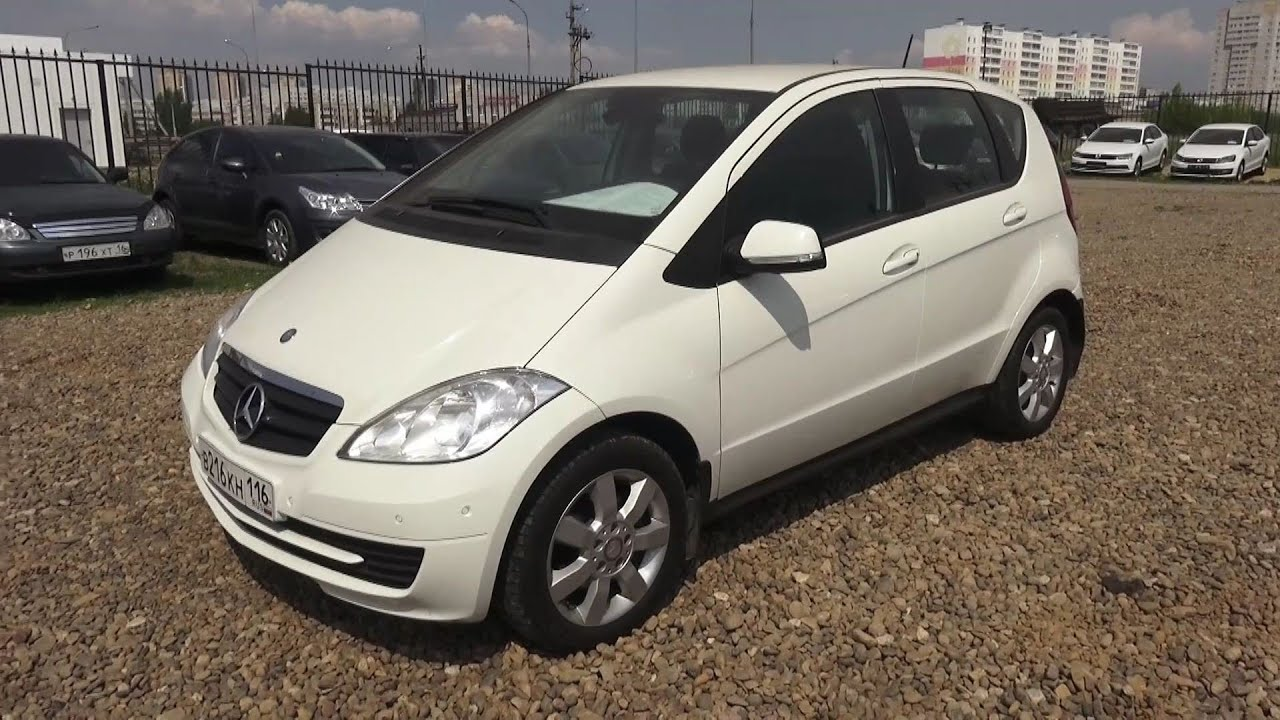 2010 Mercedes-Benz A180 (W169). Start Up, Engine, and In ...