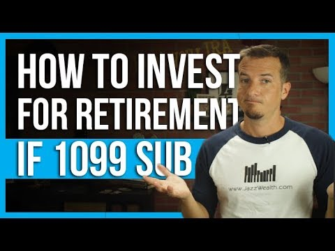 📋 Are you 1099 subcontractor? How to invest for retirement | The Dough 💲how