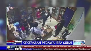 Kekerasan Fisik Staf Kantor Bea Cukai Jayapura Terekam CCTV