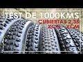 CUBIERTAS 2.35 MTB PARA RALLY Y MARATÓN   ¿SON EL FUTURO?   TEST DE 1000kms