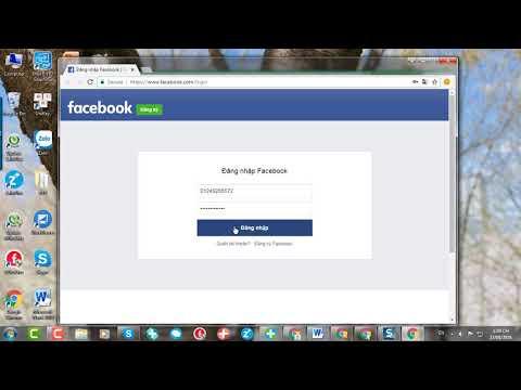Đăng nhập facebook vào FPlus bằng tình duyệt Chrome - FPlus