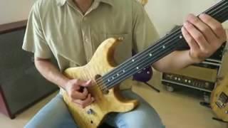Uma fera incrível fazendo uma guitarra chorar como ninguém.