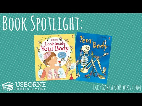 Book Spotlight - 'Look Inside Your Body' & 'Your Body'