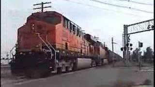 Railroad Action in Granite City, Illinois