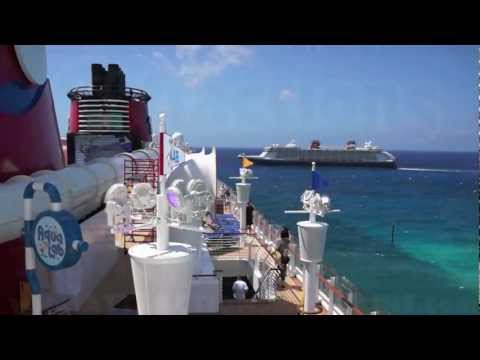 Disney Fantasy shows off horn songs for sister ship Disney Dream