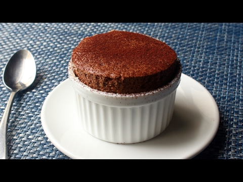 Chocolate Soufflé - How to Make Chocolate Soufflé for Two