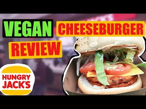 SYDNEY VEGAN CHEESEBURGER TASTE TEST | HUNGRY JACKS (BURGER KING) 2019
