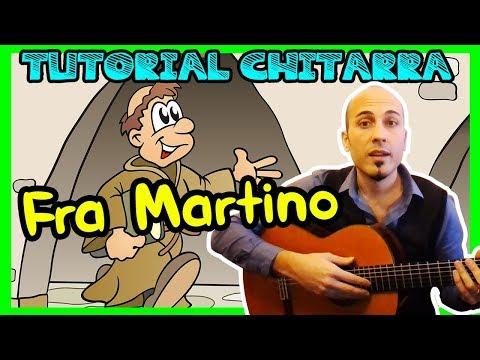La PRIMA MELODIA con la CHITARRA - FRA MARTINO - Canzoni per Bambini