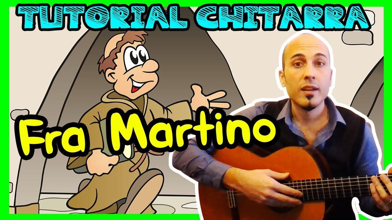 La Prima Melodia Con La Chitarra Fra Martino Canzoni Per Bambini Youtube