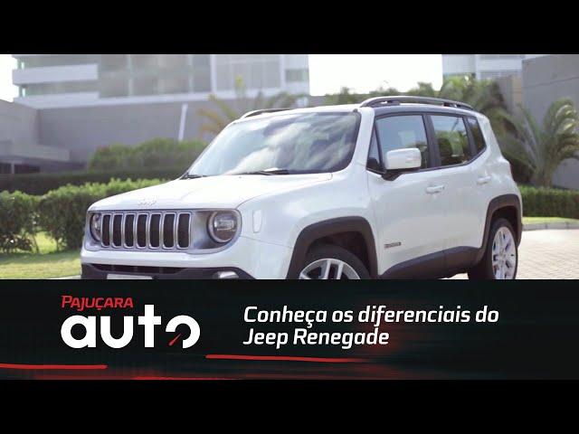 Conheça os diferenciais dos SUVs vendidos no Brasil: Jeep Renegade