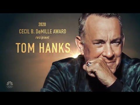 Golden Globes 2020 - Tom Hanks montage (Cecil B. DeMille award)