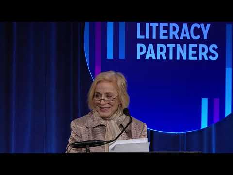 2018 Literacy Partners Gala: Holland Taylor