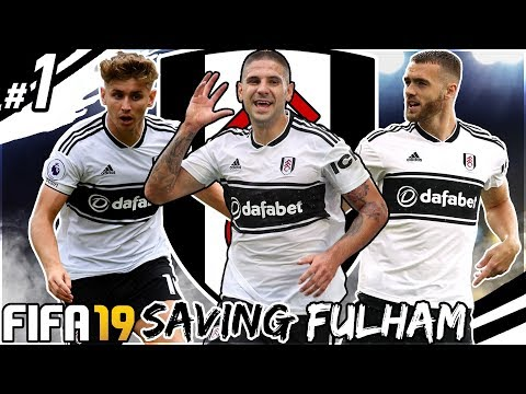 FIFA 19 SAVING FULHAM CAREER MODE #1 - THE CLAUDIO RANIERI CHALLENGE!!!