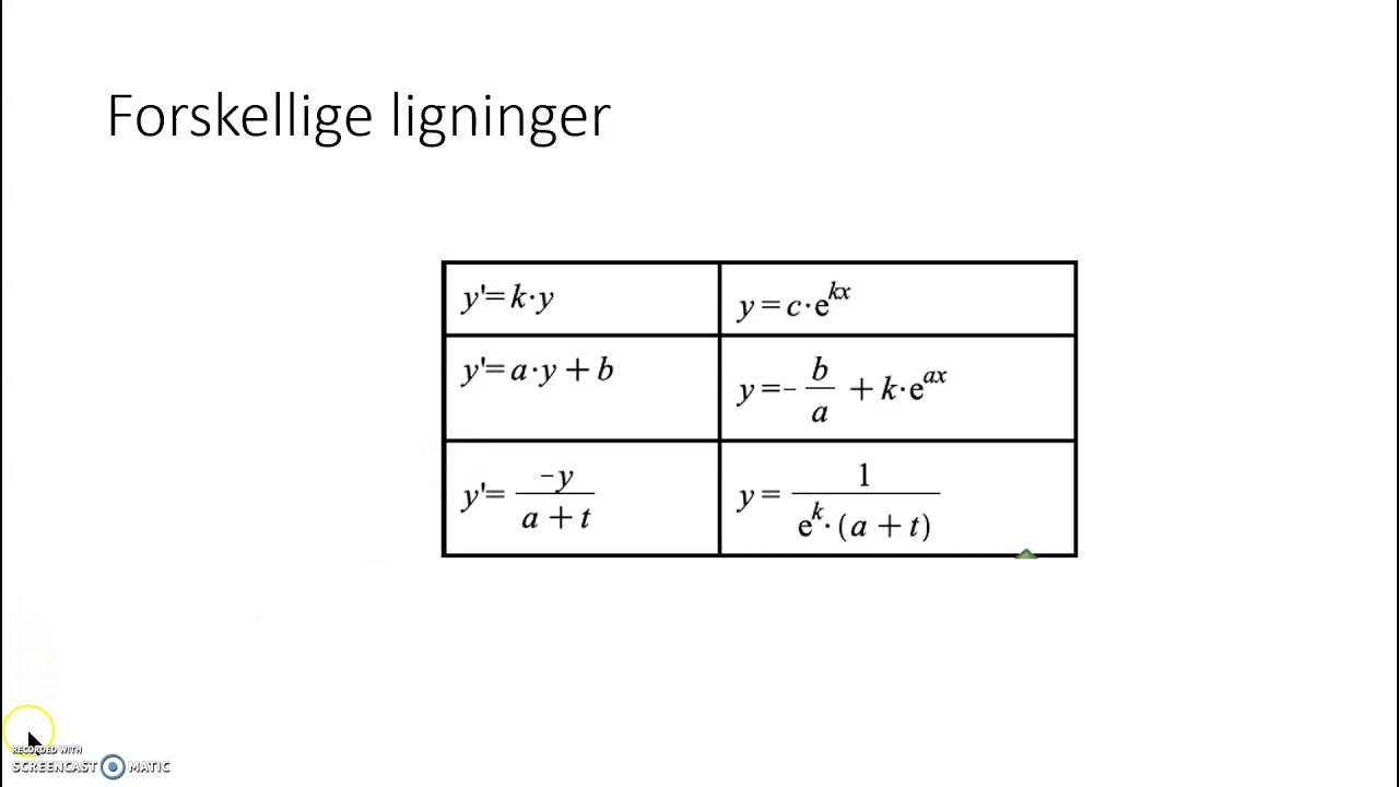 Differentialligninger, salttank projekt - Viktor