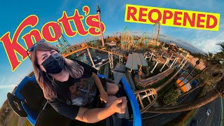 Knotts Berry Farm Reopens With Rides!