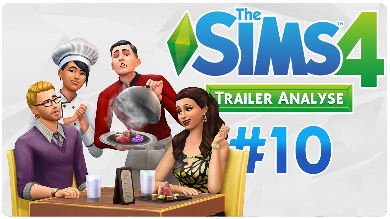Die sims 4 gaumenfreuden release showcase restaurant gameplay pack - Die Sims 4 Gaumenfreuden Trailer Analyse 10