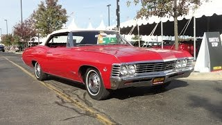 1967 Chevrolet Chevy Impala Super Sport SS 327 Convertible in Red - My Car Story with Lou Costabile