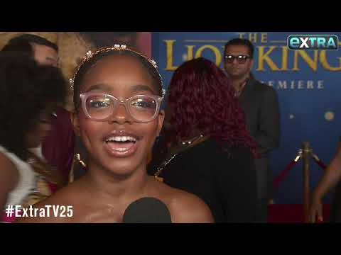 Marsai Martin Shares Reaction to Halle Bailey's 'Little Mermaid' Casting News