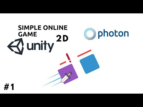 Photon Unity- 2D Online Game Tutorial (VERY SIMPLE!)
