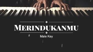 Merindukanmu - D'Masiv (MALE KARAOKE PIANO COVER)