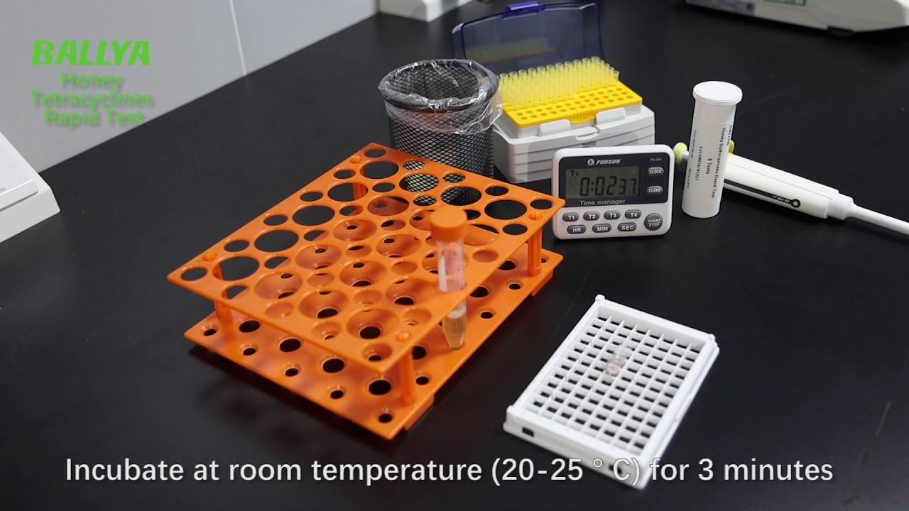 ELISA Test Kit for Tetracyclines (Aquatic Products/Honey