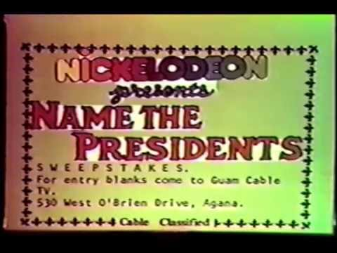 Guam Cable TV classified announcements and movie intro/rating disclaimer (early 1980s)