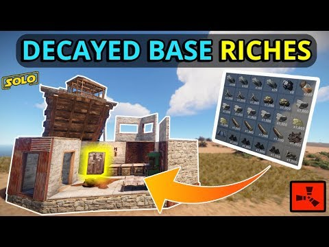 RUST SOLO: Decayed Bases Can Be Stacked With RICHES!