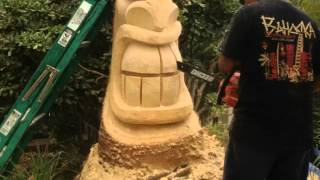 How To Carve A Tiki