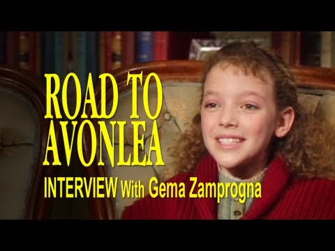 A Candid  with Gema Felicity King from Road To Avonlea