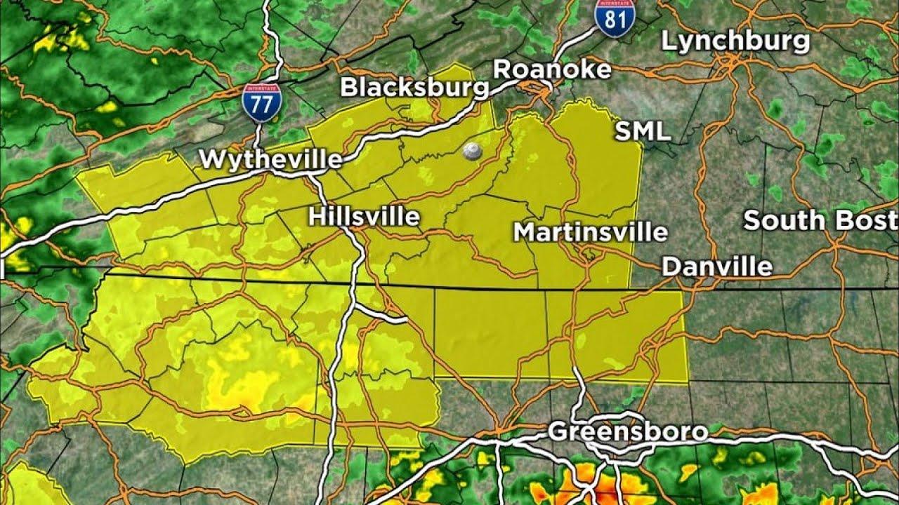 Tornado watch issued for much of Southwest Virginia ahead of ...