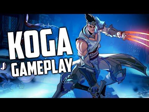KOGA GAMEPLAY! New Champion No Reload Loadout! Paladins 1.3 thumbnail