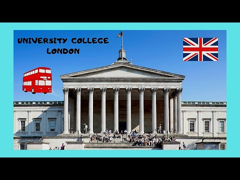 Historic and famous University College London (UCL), LONDON