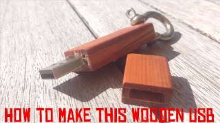 🔴How to make a wooden USB Flash Drive🔴 003
