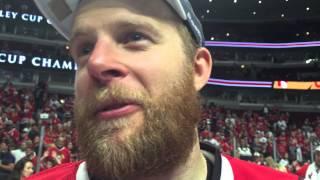 Kris Versteeg on Patrick Kane: Holy bleep, he did it again
