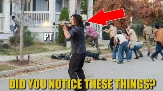 The Walking Dead Season 7 Finale Analysis & Discussion Things We Noticed TWD 716